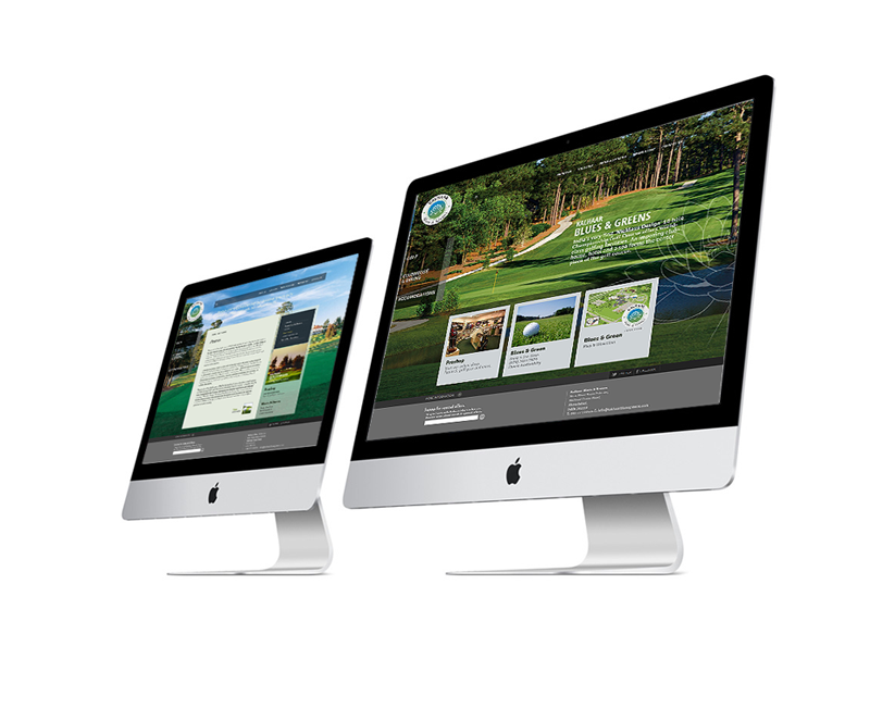 website design for jack nicklaus designed golf course india
